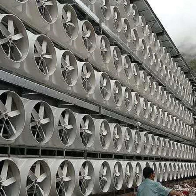 宁波玻璃钢负压风机案例